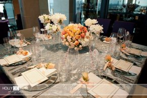 Chic baby shower_table scape